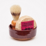 Shave Set #5 w/ Fuzzy Fleegal (Sandalwood + Patchouli)