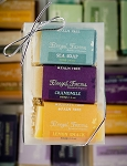 3 Bar Mini Soap Gift Set: Sea Soap/Chamomile/Lemon Smack