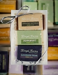 3 Bar Mini Soap Gift Set: Cinammon Oatmeal/Peppermint/Lavender Fields