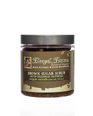 Sugar Scrub - Brown Sugar with Colloidial Oatmeal (10 oz)