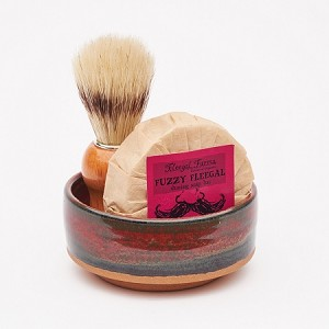 Shave Set #4 w/ Fuzzy Fleegal (Sandalwood + Patchouli)
