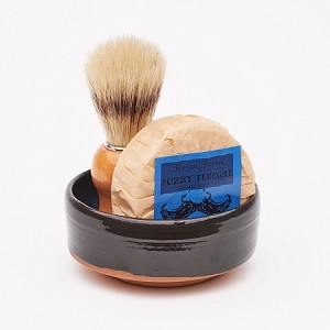 Shave Set #7 w/ Fuzzy Fleegal (Manly Shave)