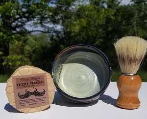 Shave Set #10 w/ Fuzzy Fleegal (Original)