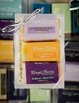 3 Bar Mini Soap Gift Set: Lavender Oatmeal/Calendula/Herbal Solstice