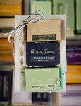 3 Bar Mini Soap Gift Set: Cinnamon Oatmeal/Lavender Fields/Rosemary Mint